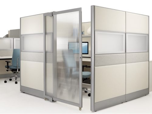 PRIVATE OFFICE CUBICLES-BWY-713