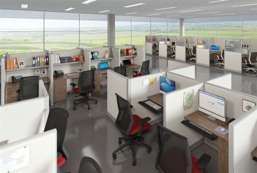 PRIVATE OFFICE CUBICLES-BWY-710