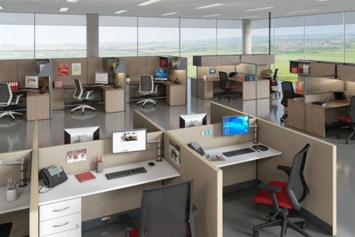 PRIVATE OFFICE CUBICLES-BWY-711