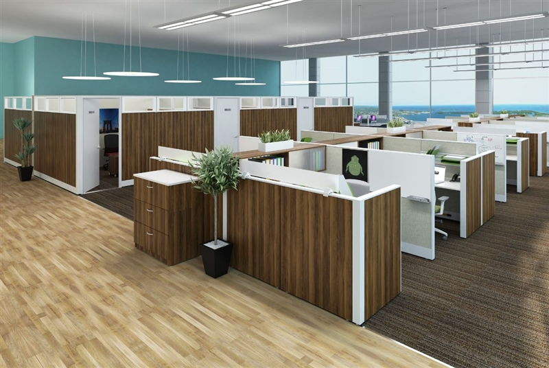 PRIVATE OFFICE CUBICLES-BWY-708