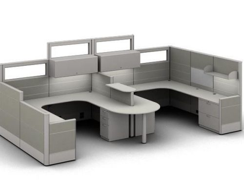 PRIVATE OFFICE CUBICLES-BWY-509